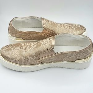 Xti, blush, slip on shoes, size 9